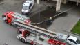 Пожар в Василеостровском районе тушили 19 человек