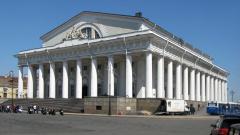 На реставрацию фасада Биржи в Петербурге потратят 300 млн рублей