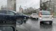 Два автомобиля столкнулись на Октябрьской набережной