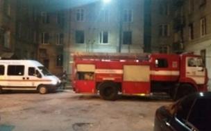 При пожаре в общежитии у Светлановской площади погибли пять человек