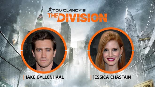 Джейк Джилленхол и Джессика Честейн сыграют в экранизации игры The Division