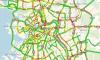 Петербургские автомобилисты провели утро вторника в огромных пробках
