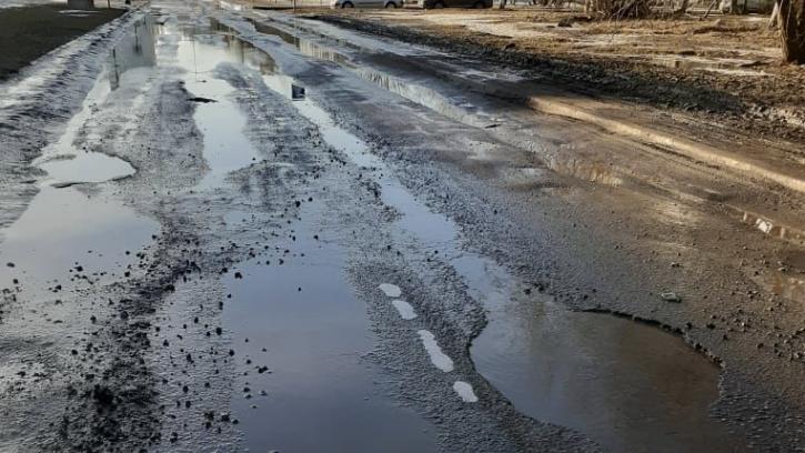 Ситцевую улицу начали ремонтировать. Но так было не всегда