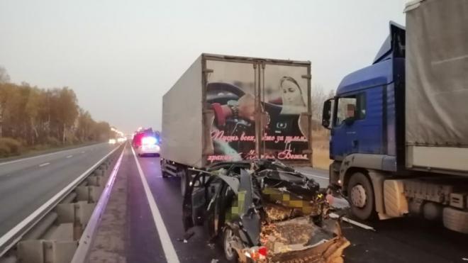 В Владимирской области в массовом ДТП погиб человек