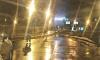 На юге КАД Петербурга перекрыли участок дороги