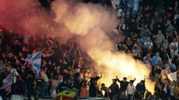 """Фанаты """"Марселя"""" взорвали бомбы рядом с базой клуба"""