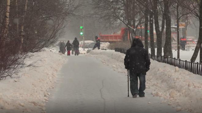 В середине недели в Петербурге потеплеет до нуля