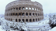 """Из-за снегопада в Риме отменили матч """"Зенит"""" - """"Расинг ..."""