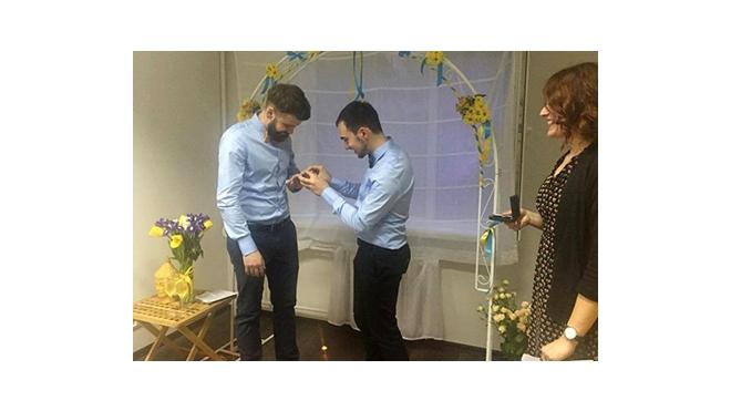 Власти Украины не признали первую гей-свадьбу в стране