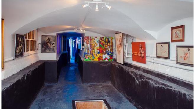 В Петербурге из Музея эротики изъяли картину с Обамой