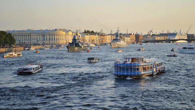 Петербург ждет теплый понедельник