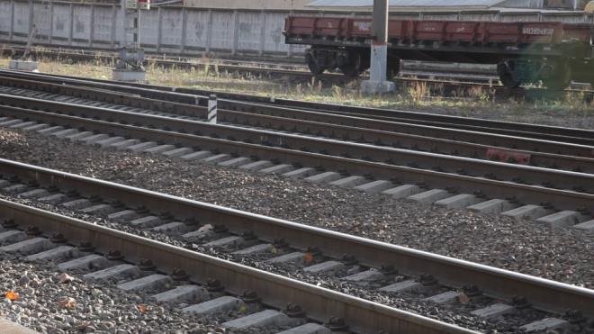 Под Петербургом товарный состав задавил мужчину в капюшоне