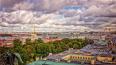 В четверг в Петербурге пройдут кратковременные дожди