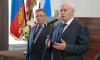 Петербургский губернатор вручил первокурсникам Водной академии студенческие билеты