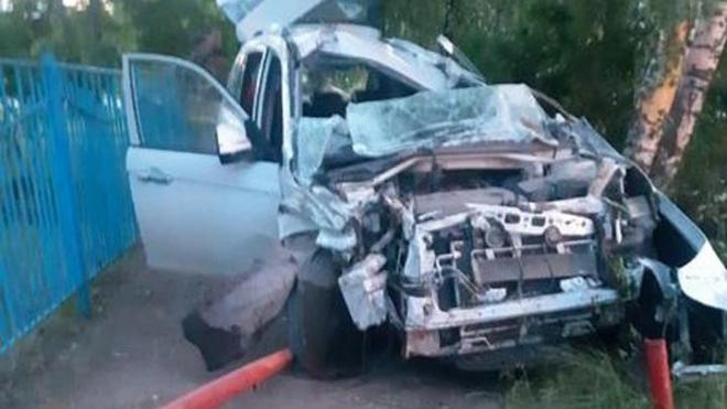В Башкирии 19-летняя девушка-водитель погибла в ДТП