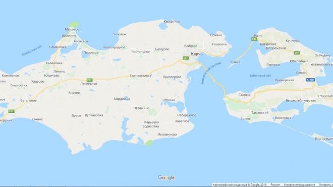 Крымский мост появился на Google Maps