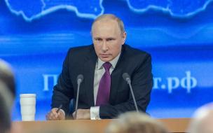 Владимир Путин прилетит в Петербург 19 февраля