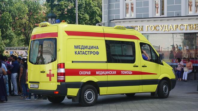 Петербуржец сорвался с ЗСД, спасаясь от машины