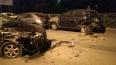 Алкаш-беспредельщик на Ford Focus протаранил 4 машины ...