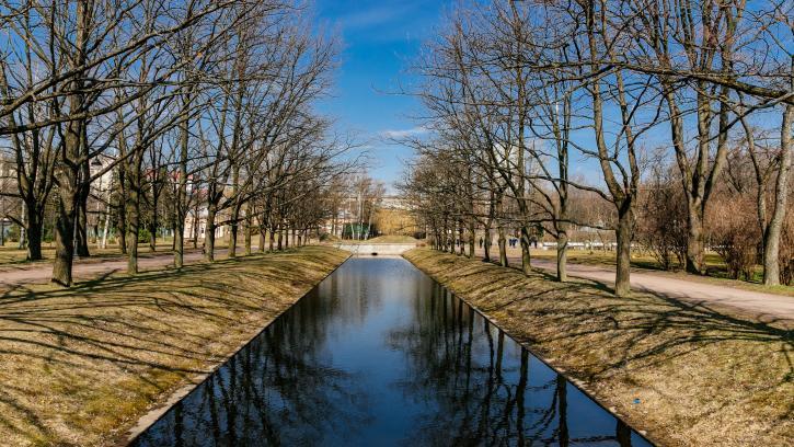 Петербуржцам стали доступны после просушки все парки, скверы и сады