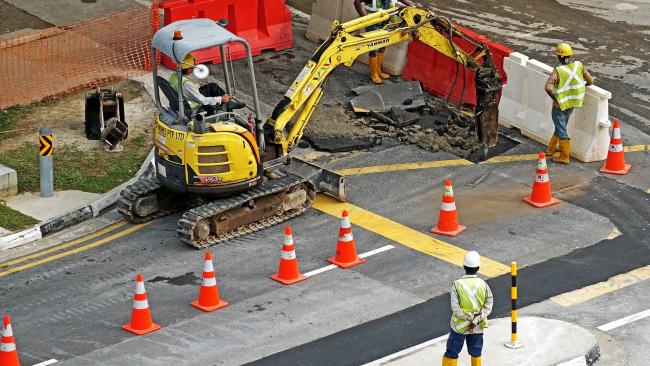 В Северной столице объявлен аукцион на дорожный ремонт по методу объемно-функционального проектирования