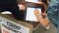 В Девяткино собирают подписи против пенсионной реформы