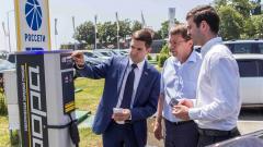 """""""Ленэнерго"""" в 2021 году установит в Петербурге 20 зарядных станций для электромобилей"""