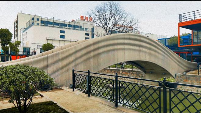 Китайцы напечатали на 3D-принтере мост длиной 26,3 метра