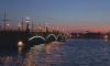 В Петербурге Тучков мост разведут в ночь с 23 на 24 января