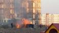 В Петербурге дети подожгли домики строителей