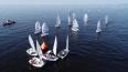 В петербургском яхт-клубе прошел первый этап детской ...