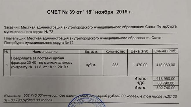 Муниципалы Петербурга ищут тонны щебня от предшественников