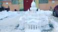 Петербуржец смастерил из снега точную копию Исаакиевского ...
