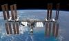 NASA опубликовало фото МКС на фоне Солнца