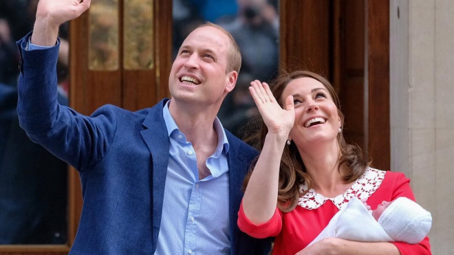 Принц Уильям и Кейт Миддлтон назвали имя своего новорожденного сына