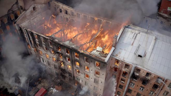 """Акционер """"Невской мануфактуры"""" подтвердил намерение отреставрировать сгоревшее здание"""