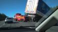 "На трассе ""Скандинавия"" грузовик вылетел в кювет"