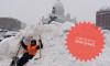 Беглов узаконил снежные кучи на тротуарах Петербурга