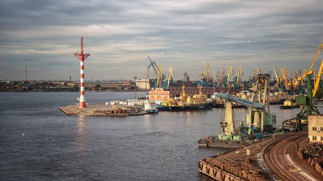 В Большом порту Петербурга танкер с нефтью врезался в причал