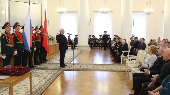 Георгий Полтавченко вручил награды руководителям комитетов