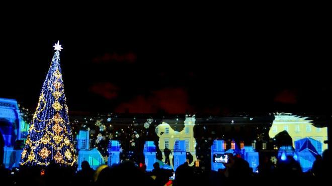 Вечером в пятницу в центре Петербурга погас свет