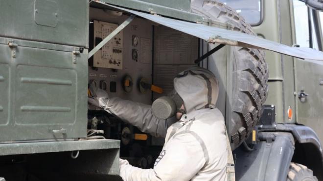 В Петербурге продезинфицировали десять военных вузов