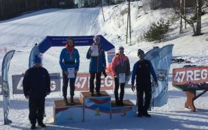 Выборжане завоевали почетные места на соревнованиях по лыжным гонкам в Юкки