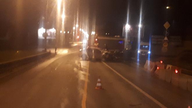 ДТП на Таллинском шоссе: трое петербуржцев погибли