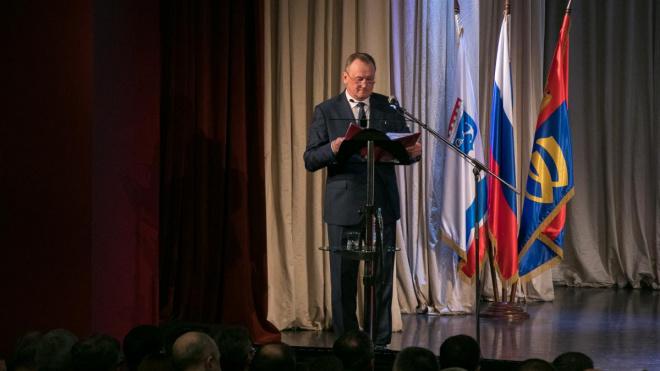 Геннадий Орлов выступил с отчетом о бюджетной политике Выборгского района