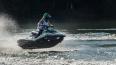 В Петербурге мужчина на гидроцикле врезался в берег ...