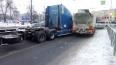 На проспекте Стачек столкнулись два бензовоза: назревает ...