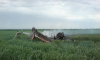 Самолет Ан-2 врезался в ЛЭП, пилот погиб