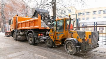 За неделю в Петербурге собрали более 140 тысяч кубометров снега