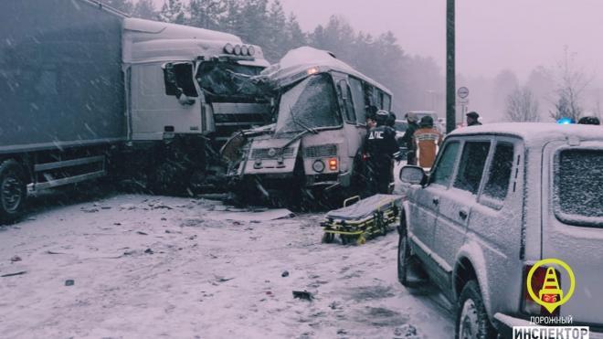 Возбуждено уголовное дело о смертельной аварии с автобусом в Ленобласти